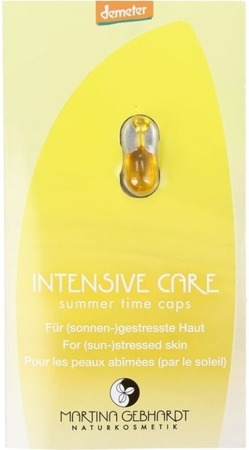 INTENSIVE CARE Summer Time Kapsułki pielęgnacyjne do skóry zmęczonej słońcem 1 szt.