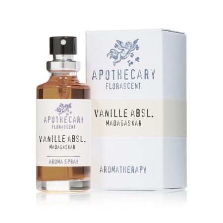 Apothecary Aromatherapy Spray WANILIA (z olejku absolutnego) 15 ml