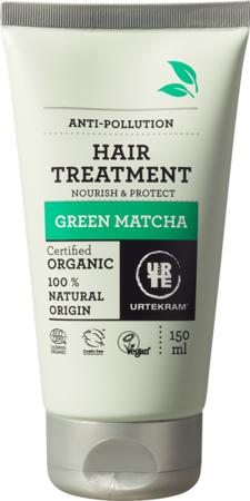 Maseczka do włosów anti-pollution Zielona matcha