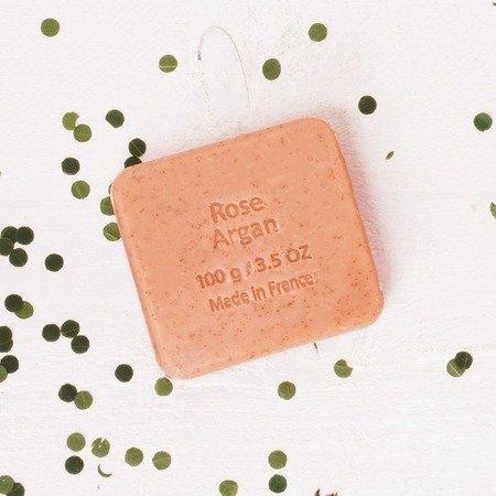 Mydło RÓŻA z olejem arganowym