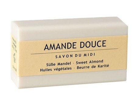 Mydło z masłem shea AMANDE DOUCE (Migdał)