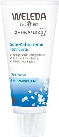 Pasta do zębów z solą morską