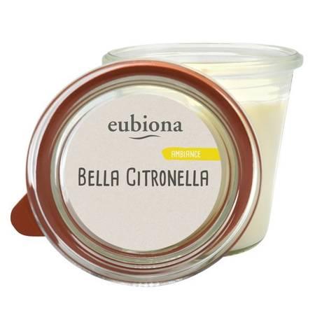 Świeca zapachowa z bio-stearyny z olejkiem cytronelowym BELLA CITRONELLA